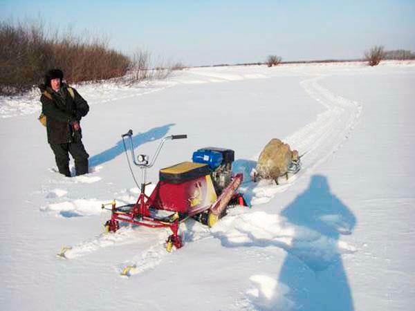 строим сами снегоход