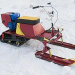 снегоход из двигателя Лифан