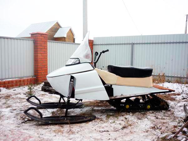 фото самодельного снегохода