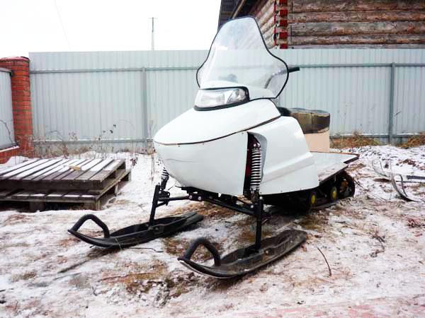 Доработки на снегоход буран своими руками фото 32
