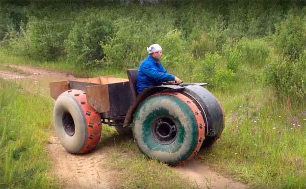 вездеход на шинах низкого давления