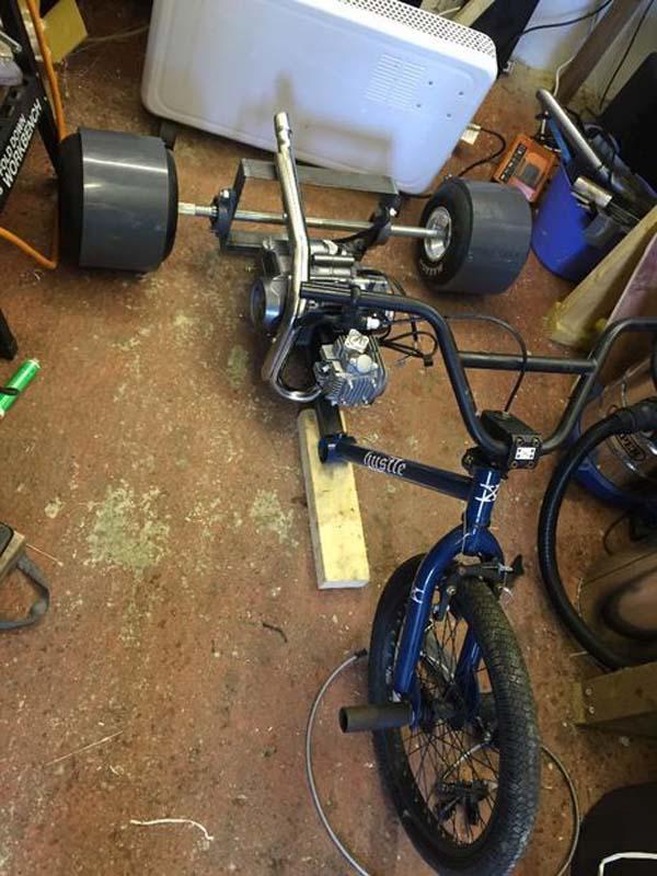 Трехколесный велосипед своими руками дрифт фото 210