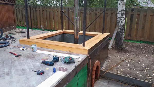Построить душ на даче своими руками видео фото 217