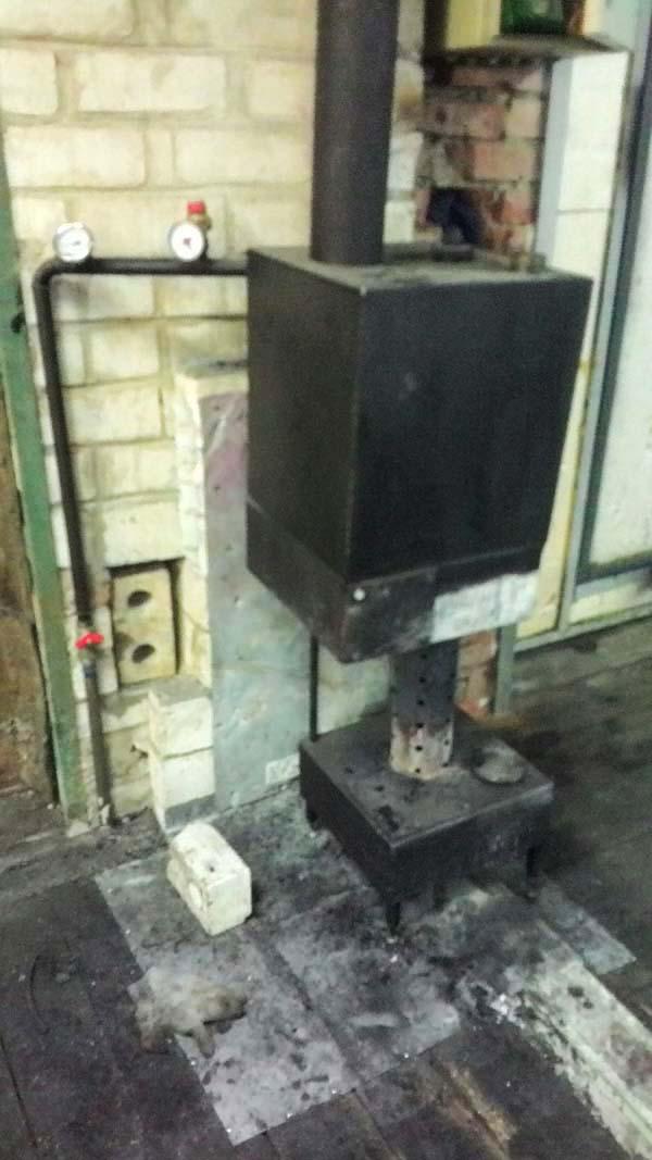 сделать отопление гаража