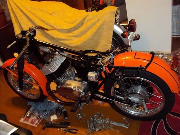мотоцикл под восстановление