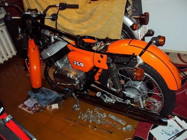 Чехол на мотоцикл своими руками