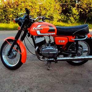 мотоцикл Cz 350