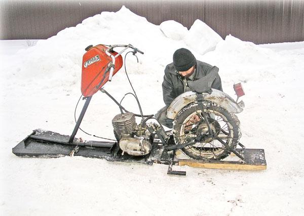 как оборудовать мотоцикл для рыбалки