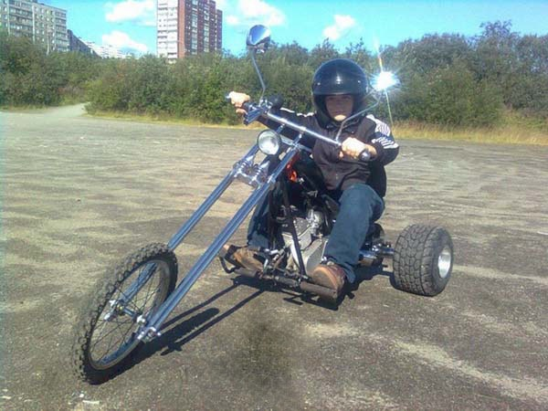 пошаговая сборка трицикла фото