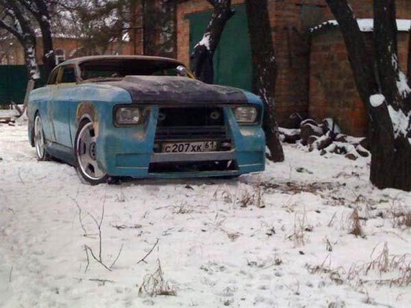 переделка москвича