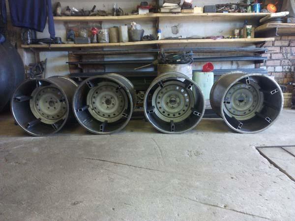 диски для колёс низкого давления