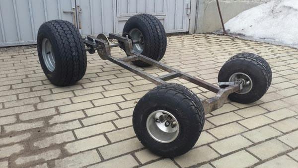 рама табуретки на колёсах