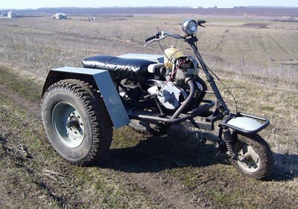 самодельный трицикл