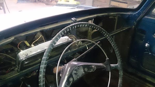 реставрация Москвич 408