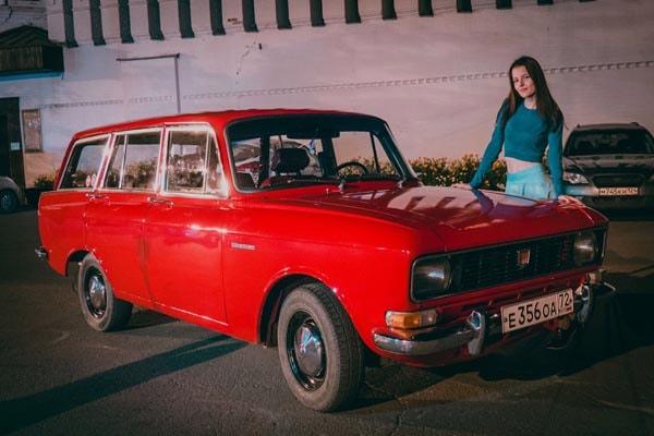восстановленный Москвич 2137