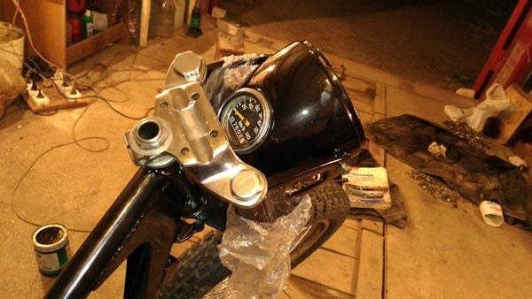 восстановление мотоцикла своими руками