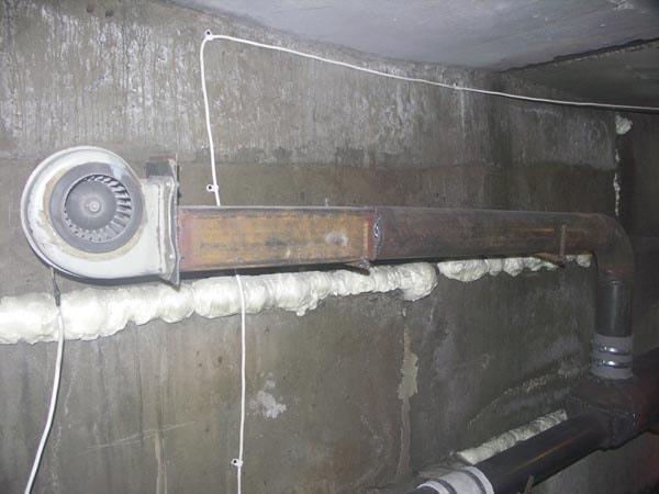 вентилятор улитка