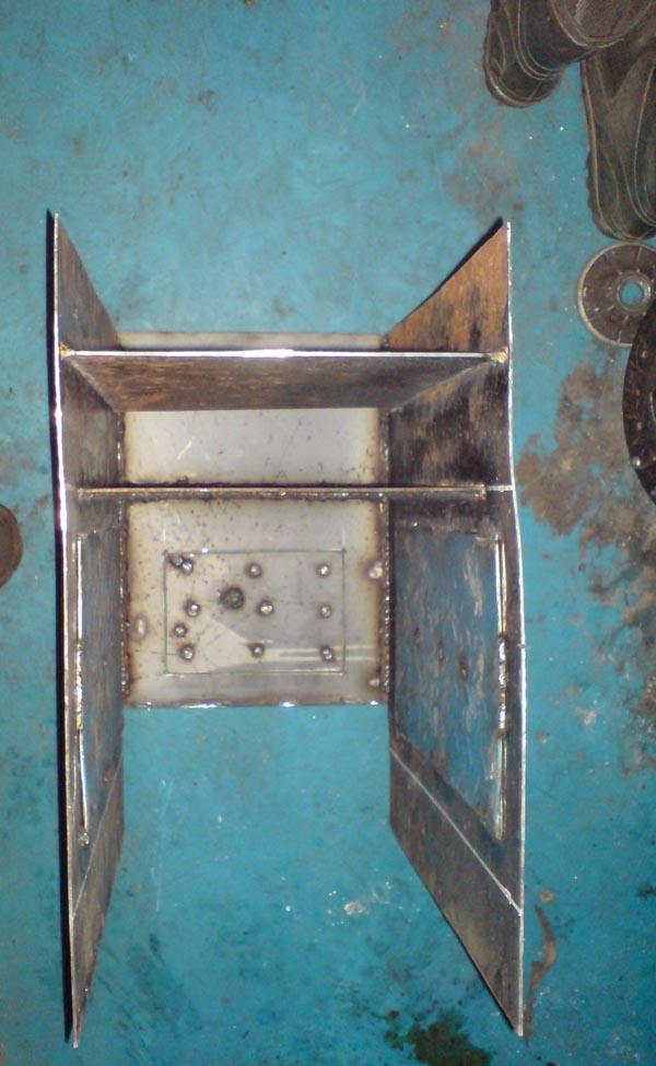 самодельная печка буржуйка с чертежами