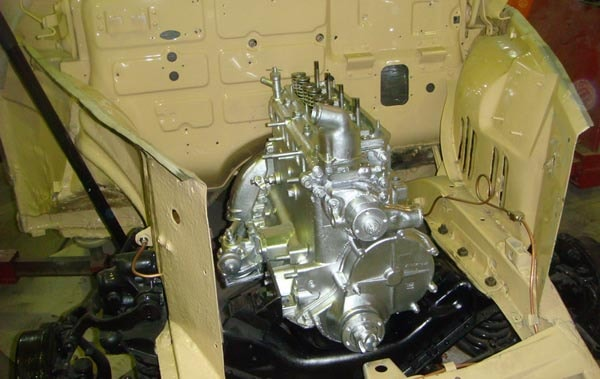 двигатель ГАЗ Победа