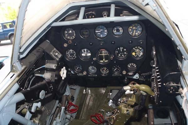 кабина МИГ-3