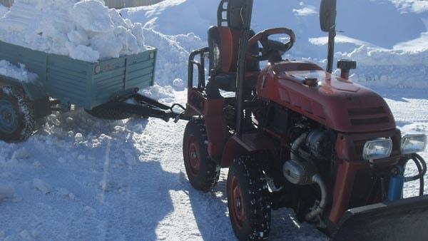 мини трактор сделанный самостоятельно