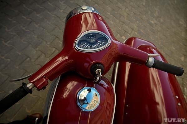 Ява мотоцикл 1973 года