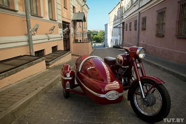 реставрация мотоцикла Ява 350