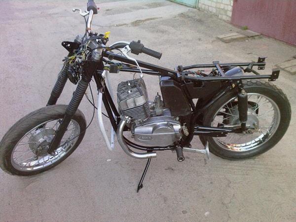 ремонт мотоцикла ява
