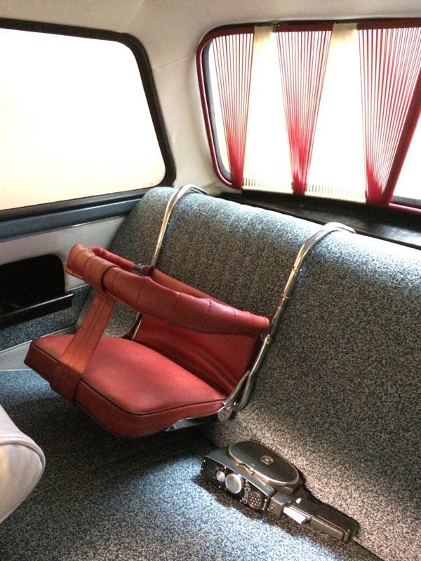 детское авто кресло ссср