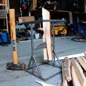 Колун для дров своими руками чертежи видео фото 543