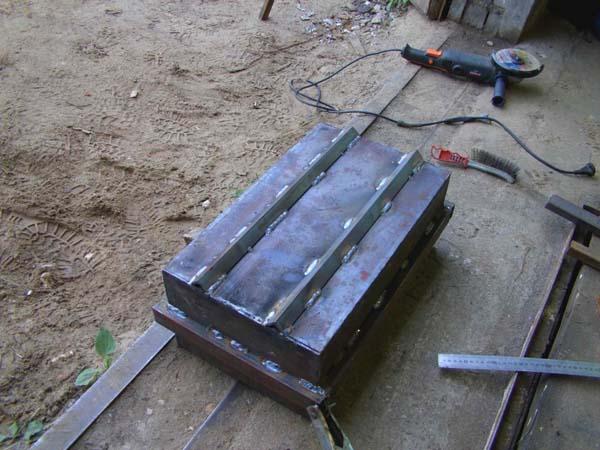 делаем мангал из металла