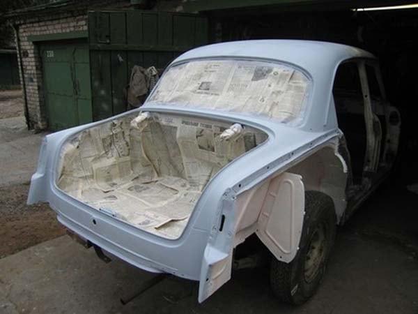 покраска кузова авто