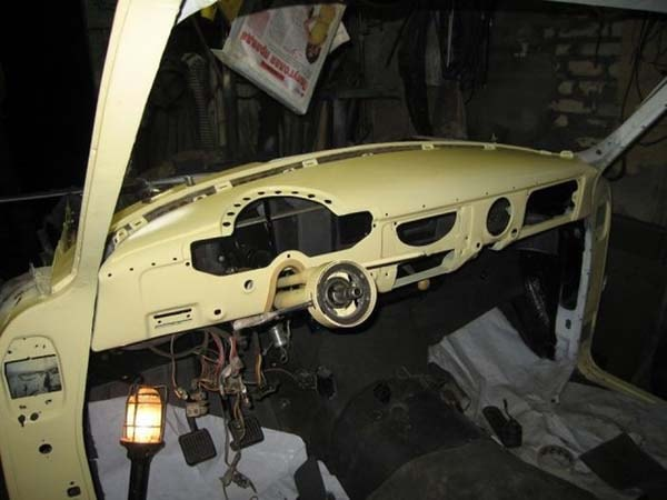 автомобиль газ-21 реставрация