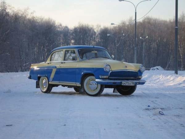 автомобиль газ после реставрации