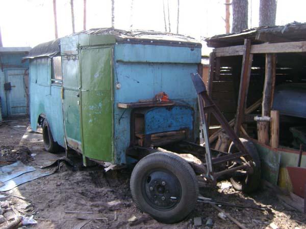 восстанавливаем автобус ЗИС-8