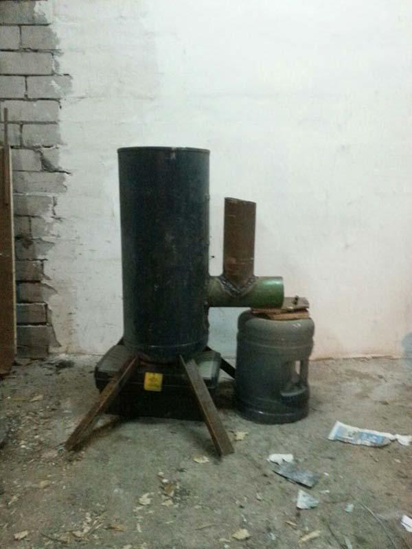 печь ракетного типа