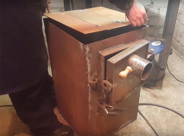 печь для гаража