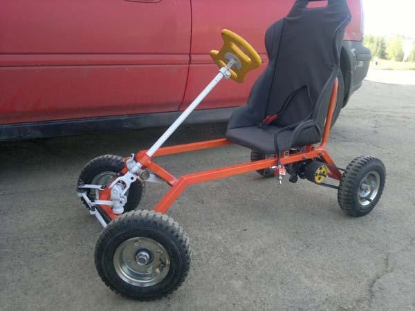 электромобиль для ребёнка своими руками