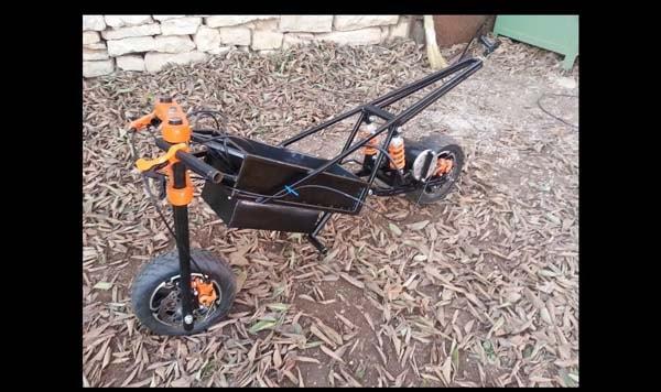 самодельный электро скутер