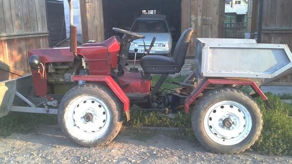 мини трактор своими руками