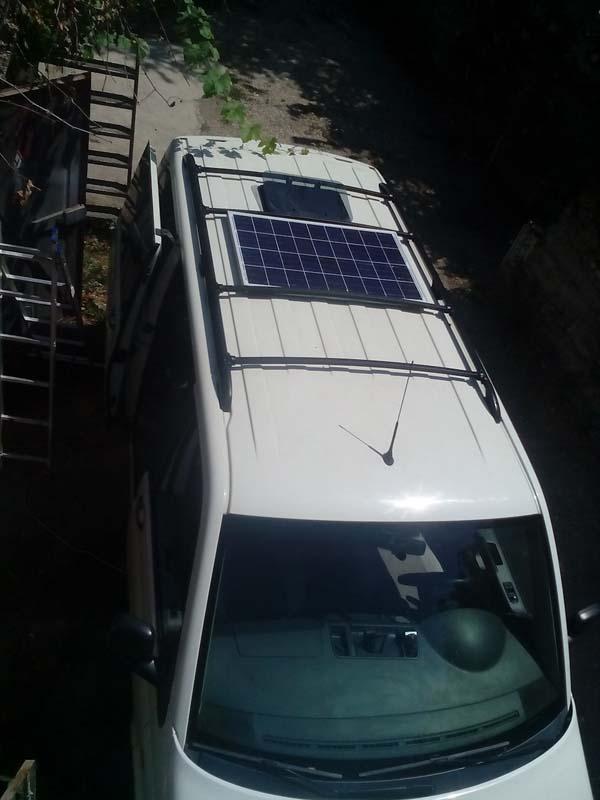 солнечная панель для автомобиля