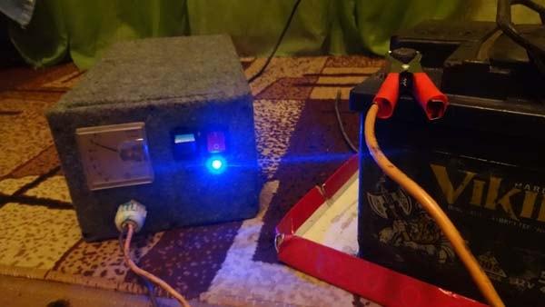 зарядное для акб 12 вольт