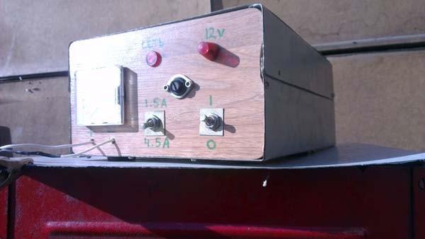 зарядное для автомобильного аккумулятора схема