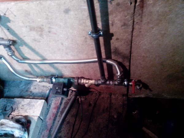 водяное отопление для гаража