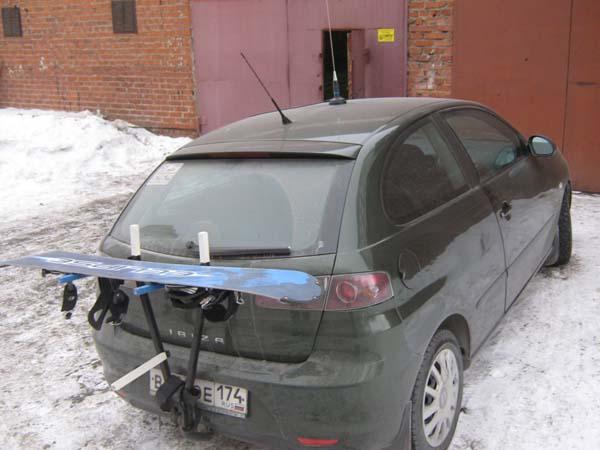 крепление для сноуборда на автомобиль