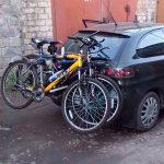 крепление для велосипеда на автомобиль