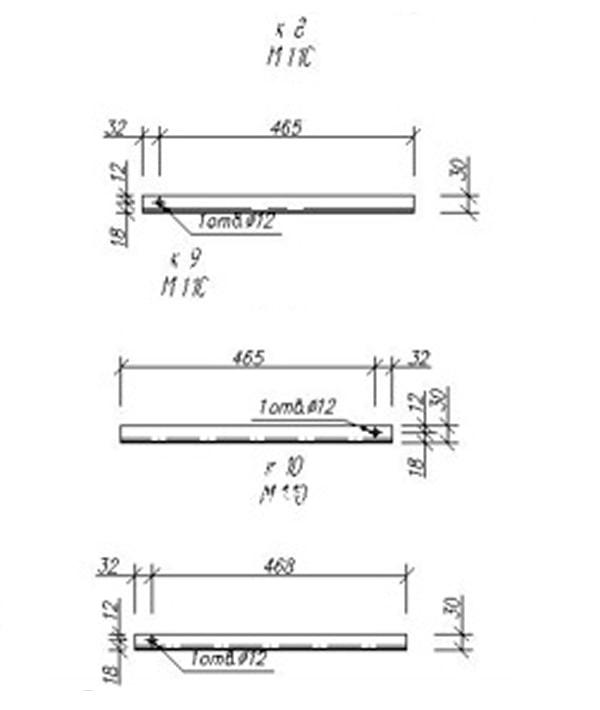 размеры и чертежи Подъемник КПП