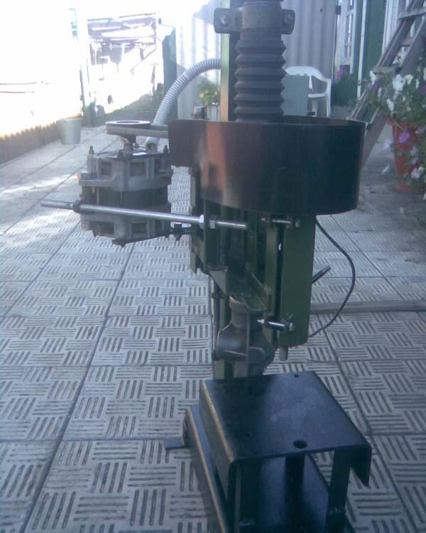 сверлильный из двигателя стиральной машинки