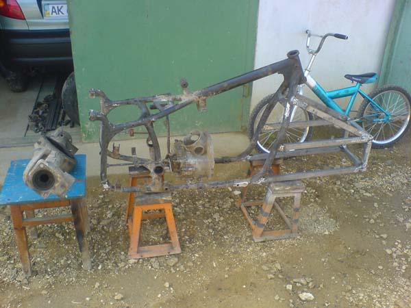 квадроцикл из мотоцикла днепр мт