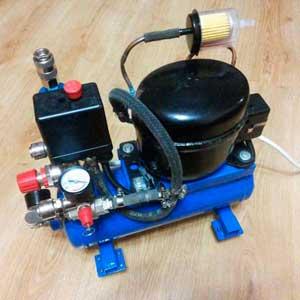 компрессор самодельный